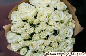 Монобукет из 51 розы