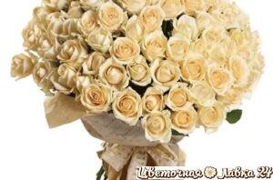 букет из 59 роз